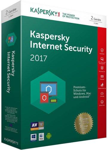 Kaspersky Internet Security 2017 Sonderedition (2 User) (1 Jahr) (DE) (PKC)