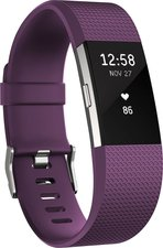 Fitbit Charge 2 Pflaume / Silber large