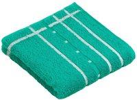 Vossen Quadrati Handtuch pacific/weiß (50x100cm)