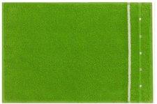 Vossen Quadrati Gästetuch meadow green/weiß (30x50cm)