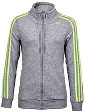 Adidas Frauen Essentials 3S Tracktop medium grey heather/frozen yellow