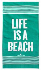Tom Tailor Strandtuch Life Is A Beach (85x160cm)