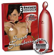 Secura Sweet Strawberry Kondome