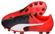 Puma evoSPEED 5.5 Tricks AG Jr puma black/puma white/red blast