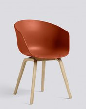 HAY About A Chair AAC22 (orange) (Gestell Eiche lackiert)