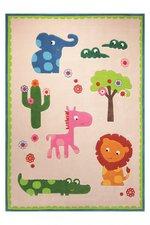 Esprit Home Kinder-Teppich Zoo 70x140cm