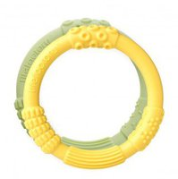 lifefactory Baby Beißring-Set Yellow/Spring Green