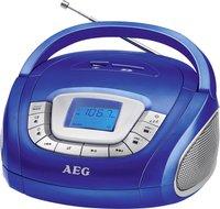 AEG Unterhaltungselektronik SR 4373 blau