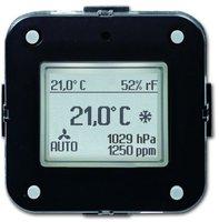 Busch-Jaeger Raumtemperaturregler mit CO2/Feuchte Sensor KNX (6108-28)
