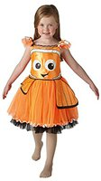 Rubies Dory Deluxe Tutu Dress Child Orange