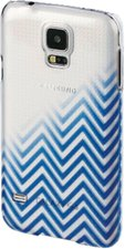 Hama Blurred Lines Cover (Galaxy S5) blau