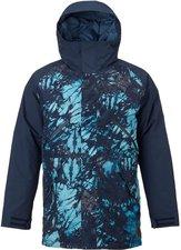Burton Breach Snowboard Jacket Eclipse Tie Dye Trench / Eclipse