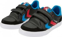 Hummel Stadil Leather JR Low black/blue/red/white