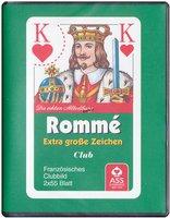 ASS Rommé - Extra große Zeichen