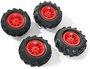Rolly Toys rollyTrac Air Tyres (409587)