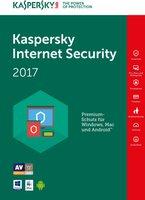Kaspersky Internet Security 2017 Upgrade (5 Geräte) (2 Jahre) (DE) (ESD)