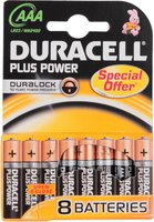 Duracell Plus Power AAA Micro 1,5V (8 St.)