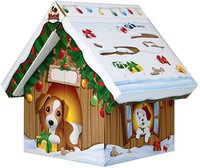 Jeffos Adventshäuschen für Hunde