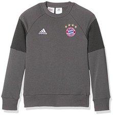 Adidas FC Bayern München Pullover Trainingssweat Kinder grau