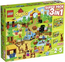 LEGO Duplo - Wildpark 3 in 1 Super Pack (66538)