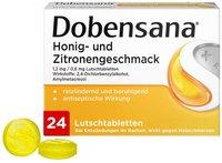 Reckitt Benckiser Dobensana Honig- und Zitronengeschmack 1,2mg/0,6mg Lutschtabletten (24 Stk.)