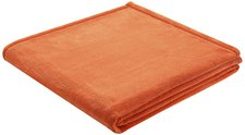 Biederlack King Fleece Uni 150x200cm orange