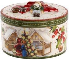 Villeroy & Boch Christmas Toys Geschenkpaket mittel rd. Weihnachtsmarkt 13cm