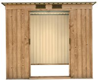 Tepro Pent Roof PD 6 x 4 Eichen-Dekor (203 x 124 cm)