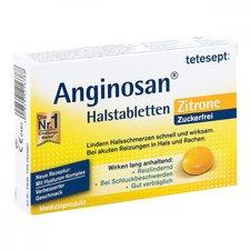 Tetesept Anginosan Zitrone zuckerfrei Halstabletten (20 Stk.)