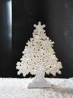 Best Season LED-Fensterleuchter Winterbaum 29cm