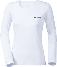 Vaude Women's Brand LS Shirt white