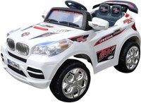 Actionbikes Kinder Elektroauto BMX SUV A061 weiß (PR0002761-02)