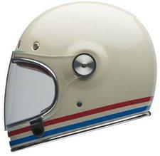 Bell Helmets Bullitt Stripes pearl white