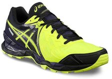 Asics Gel-Fuji Endurance Plasmaguard Men plasmaguard safety yellow/infinity purple/black