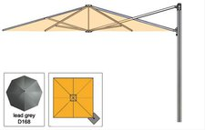 Zangenberg Z Singlepole Uno 250 x 250 cm grau