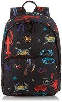 O'Neill Coastline Backpack black aop blue