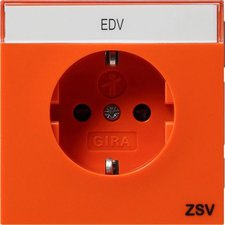 Gira 1-fach orange ZSV (0427119)