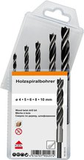 Keil Werkzeugfabrik MultiPack Holzspiralbohrer 5-tlg. (A1.180.350.410)