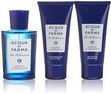 Acqua di Parma Blu Mediterraneo Ginepro di Sardegna Set (Edt 150ml+SG 75ml+BL 75ml)
