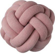 Design House Stockho Knot Kissen rosa