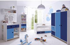Ticaa Cubo Babyzimmer 5-tlg. blau