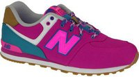 New Balance 574 Weekend Expedition pink with blue