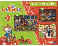 Noris Leo Lausemaus 3 in 1 Puzzlespaß (606031427)