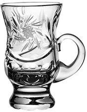 Crystal Julia 3840 Likörglas Bleikristall Schleudersternmuster Henkel, 6 er Set verpackt