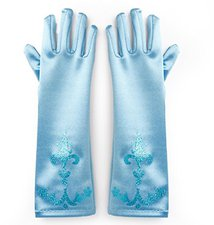Katara Prinzessin Elsa Handschuhe Blau