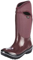Bogs Footwear Plimsoll Houndstooth Tall Rain Boots Women eggplant multi