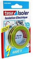 Tesa Klebeband Elektrische Isolierung 6.000 V 10m x 15mm gelb/grün (5619312)