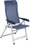 Crespo Stuhl Luxus Plus AL/237 blau-grau