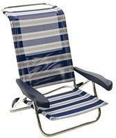 Crespo Strandstuhl Playa Beach blau-weiß I