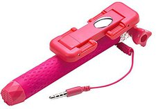 Celly Mini Selfiestick Connection pink